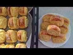 Štrudlice sa sirom/Jednostavne odličnog ukusa - YouTube Dessert Recipes, Desserts, Pretzel Bites, French Toast, Cooking Recipes, Bread, Breakfast, Food, Youtube