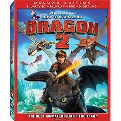 How to Train Your Dragon 2 [Blu-ray 3D + Blu-ray + Digital HD]