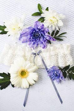 Wedding Garter Co Pretty Flower Unique Garters-2