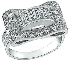 Vintage 1.55ct Diamond Ring