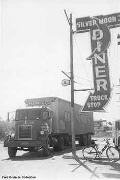 CLASSIC TRUCK STOPS of THE PAST