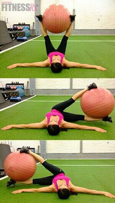 Great move for the abs! Add it to the end of any circuit!