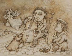 Artists and tea  Emeretli Kira