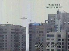 UFO over Mexico City.
