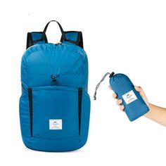 ccf7044209b Naturehike NH17A017-B 25L Folding Backpack Ultralight 2000+ Waterproof  Outdoor Sports Travel Bag