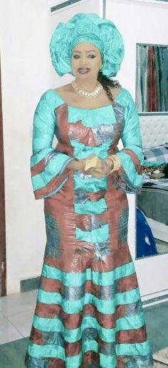 Mali fashion bazin brodé #Malifashion #bazin #oumousangaré