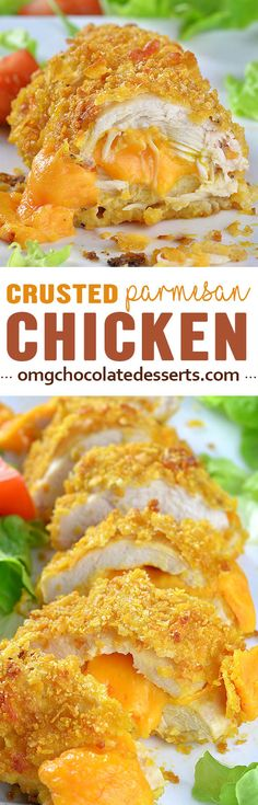 Crispy Baked Parmesan Chicken is QUICK and EASY DINNER RECIPE for your family.