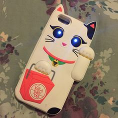 How cute from Claire's Katy Perry Cat light up iPhone 6 case!
