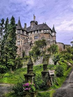 At the Berlepsch Castle, Hesse in Germany.