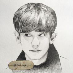 #chanyeol #parkchanyeol #happyvirus #chan #chanfanart #chanyeolfanart #exo #exok #exokfanart #kpop #kpopfanart #fanart #koreanfanarts #portrait #pencil #sketch #drawing
