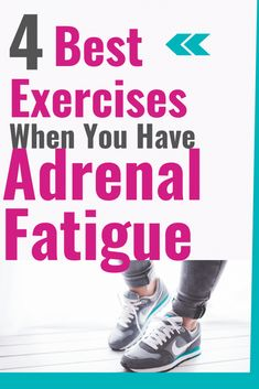 Exercise For Adrenal Fatigue - A Radiantly Healthy Life A helpful guide to safe and effective exercise for people dealing with adrenal fatigue and autoimmune conditions. This can be helpful for beginners as well. What Is Adrenal Fatigue, Adrenal Fatigue Treatment, Adrenal Fatigue Symptoms, Adrenal Insufficiency Symptoms, Adrenal Glands, Chronic Fatigue, Adrenal Health, Women's Health, Health