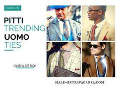Trending Ties at Pitti Uomo 87 2015 #pittiuomo87 #pittiuomo #pitti #pitti87 #pittiuomo2015 #fashion #trends #menswear #style #ties #woolties