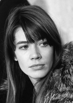 Françoise Hardy photoraphed by Jean-Marie Perier