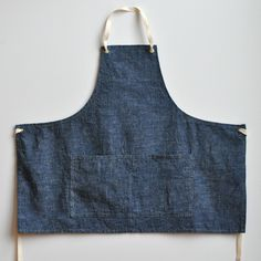 Real into these linen aprons by Small Batch Production .
