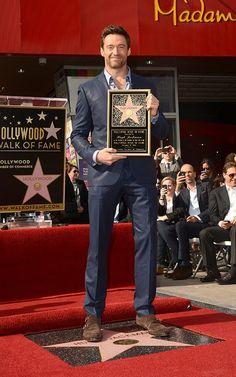 Hugh Jackman gets a star on the walk of fame