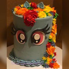 Cake rainbow dash rainbowdash ideas for 2019 Rainbow Dash Birthday, Rainbow Dash Party, Cake Rainbow, 7th Birthday, Birthday Ideas, White Dessert Tables, Cake Mix Brownies, Cake Decorating For Kids, Cake Pop Displays