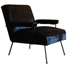 Early Milo Baughman Armchair with Hairpin Legs