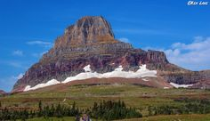 https://flic.kr/p/fNvvLC | Logan's Pass | Glacier National Park, Montana USA. This is Clements Mountain at Logan Pass.