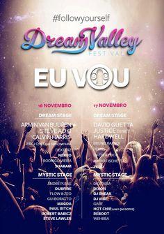 DreamValley festival Flyer.