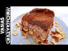 Μιλφειγ Σοκολατας Τσακ Μπαμ – Μιλφειγ Σοκολατας Ευκολο – Συνταγη Για Μιλφειγ Με Σφολιατινια - YouTube Quiche, Tiramisu, Casserole, Sandwiches, Chocolate, Ethnic Recipes, Easy, Desserts, Youtube