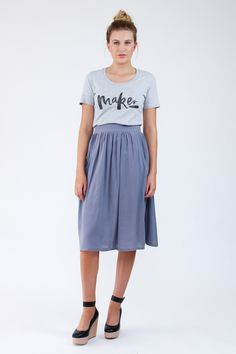 Brumby Skirt Sewing Pattern :: Megan Nielsen