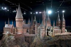 The Hogwarts castle will be on display as part of the Warner Bros Harry Potter studio tour in London from March 31, 2012.