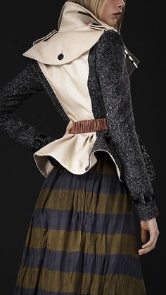 Shop the latest womenswear from Burberry including seasonal trench coats, leather jackets, dresses, denim and skirts. Fashion Details, Look Fashion, Fashion Outfits, Womens Fashion, Fashion Design, Suits For Women, Women Wear, Clothes For Women, Topshop Outfit