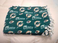 $40 - Miami Dolphin's Throw Blanket