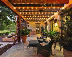 """Освещение сада, дачи, веранды своими руками, блог """"Твой Дизайнер"""""""
