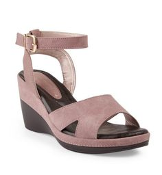 Buy Truworths Pink Wedge Shoe Online | Truworths Pink Wedge Shoes, Pink Wedges, Wedge Shoes Online, Comfortable Sandals, Wardrobe Ideas, Ankle Strap, Fashion Online, Lady, Stuff To Buy