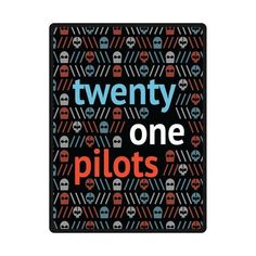 Twenty One Pilots Custom Blanket 58inches x 80inches (Lar...