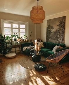 Bohemian Latest And Stylish Home decor Design And Life Style Ideas B. - autohotBohemian Latest And Stylish Home decor Design And Life Style Ideas Bohemian Latest And Stylish Home decor Design And Life Style Ideas Boho Living Room, Living Room Chairs, Home And Living, Small Living, Modern Living, Boho Room, Living Area, Bohemian Living, Living Room Decor Green Couch