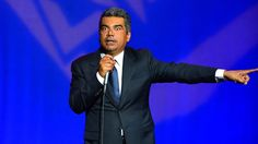 George Lopez faces Twitter's rage for an anti-black joke and lashing out at audience member Image:  MediaPunch/REX/Shutterstock  By Martha Tesema2017-02-08 18:14:02 UTC  George Lopez is trending online in 2017 and no its not because theres a George Lopez Show revival in the works.  The comedian is in the middle of a heated Twitter debate after footage was released by TMZ of Lopez telling racially charged joke from his stand-up performance in Phoenixand his retort to an audience members…