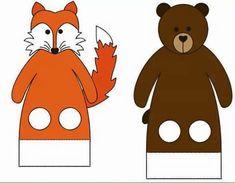 Masallar İçin Parmak Kuklalar - Okul Öncesi En Güzel Parmak Kuklalar Animal Hand Puppets, Arts And Crafts, Paper Crafts, Reading Activities, Felt Animals, Elementary Art, Pet Birds, Diy For Kids, Tigger