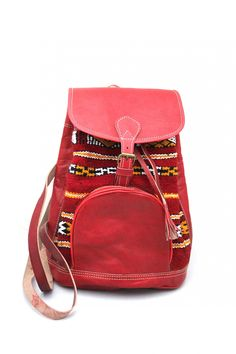 Boho Leather #Backpack $110.00