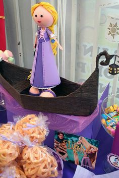 fofucha rapunzel by Mesa de Dulce, via Flickr