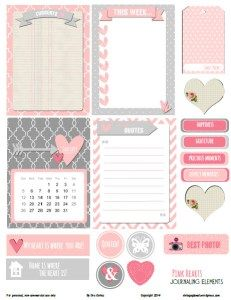 Pink-Hearts-journaling-elements-preview