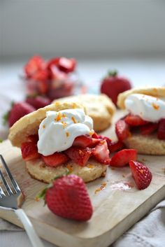 Strawberry Grand Marnier Shortcake - www.countrycleaver.com
