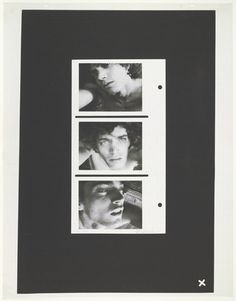 Robert #Mapplethorpe. Triptych: Self-Portrait. 1972 #IdentityPolitics #CultureWars