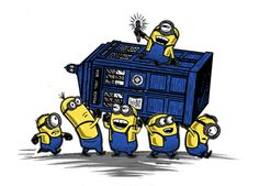 Minions Have the Phone Box words cannot describe how badly I need this t-shirt