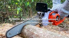 Kebtek Electric Chainsaw Unboxing Video Battery Powered Chainsaw, Electric Chainsaw, Leaf Blower, Outdoor Power Equipment, Garden Tools, Yard Tools
