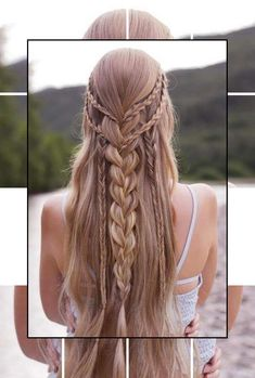28 Spring Cute Braids Ponytail Hairstyles To Change Your Look Latest Fashion Trends for : Pag. - 28 Spring Cute Braids Ponytail Hairstyles To Change Your Look Latest Fashion Trends for : Page 10 o - Braided Prom Hair, Braided Ponytail Hairstyles, Box Braids Hairstyles, Girl Hairstyles, Hairstyle Ideas, Perfect Hairstyle, Curly Braids, Fashion Hairstyles, Hair Updo