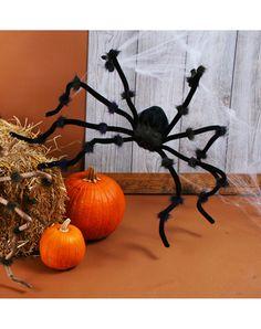 $12.50 Plush 90in Black Spider