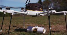 UPS comienza a realizar las primeras pruebas a sus drones de reparto - http://www.hwlibre.com/ups-comienza-realizar-las-primeras-pruebas-drones-reparto/