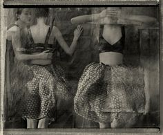 Sarah Moon, ph. (b.1941) three graces