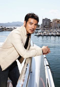 Takeshi Kaneshiro - for once, words fail me.