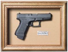 Quadro decorativo Arma - Glock R$135,90