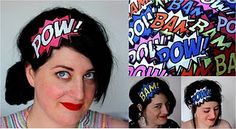 Comic Inspired Headbands!