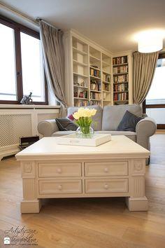 stolik kawowy - zdjęcie od Artystyczna Manufaktura - klasyczne meble na wymiar