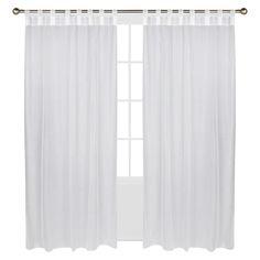 Outdoor Decor Escape Hook & Loop Indoor/Outdoor Curtain Panel -